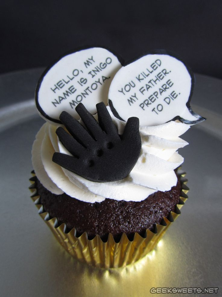 Princess Bride Cupcakes