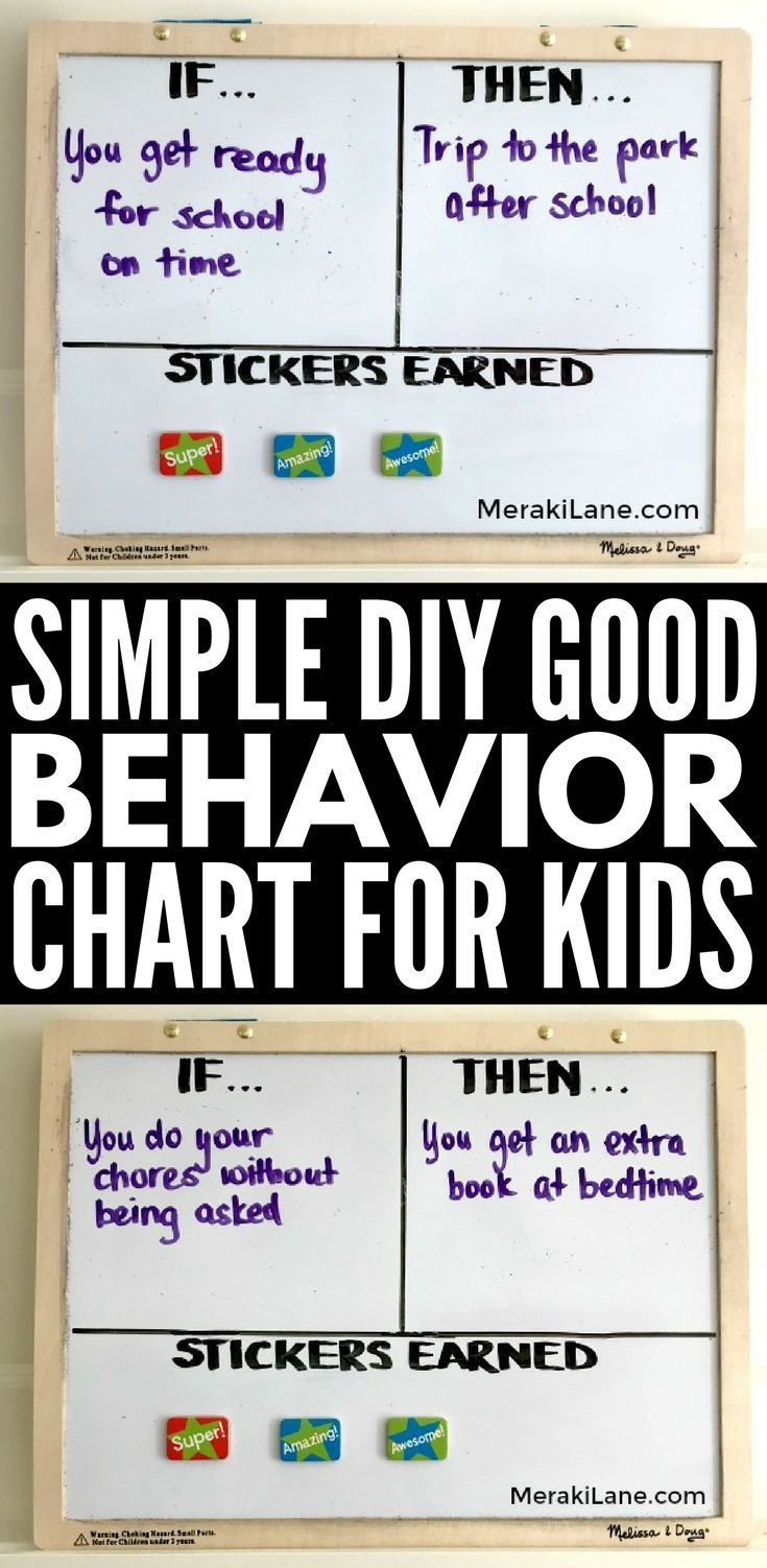 Diy Good Behavior Chart For Kids Looking A Reward System To Support Your Positive Reinforcement Efforts With Children Either At Home Or School
