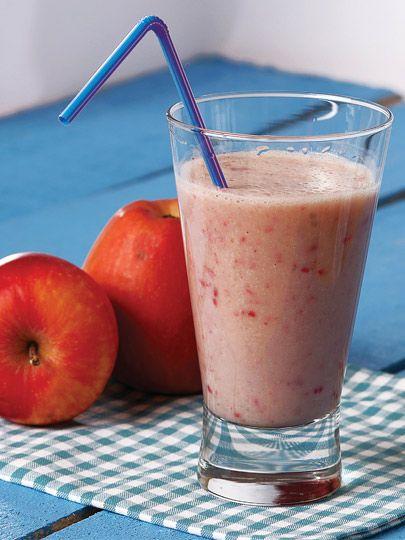 Badem sütü, mürdüm eriği, kırmızı elma Tarifi -(kan şekeri, kolestrol,soğuk algınlığı. ..)