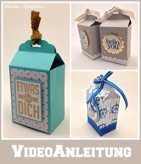 35 best video anleitung box verpackung images on pinterest. Black Bedroom Furniture Sets. Home Design Ideas