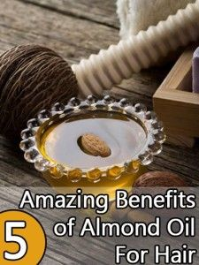 5 Extraordinary Almond Oil Uses For Hair. Massaging your hair with oil such as almond oil makes your hair more healthy and shiny.