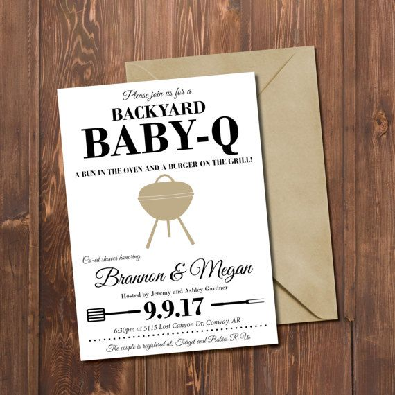 35 best taime baby q images on pinterest baby shower invitations baby shower invitation baby q invite baby shower co ed baby shower backyard bbq shower bun in the oven rustic baby shower invite filmwisefo Gallery