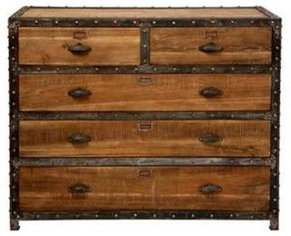 Vintage Furniture  Industrial Furniture  Indian Arts  Home Decor - Asian - Buffets And Sideboards - by India Buying Inc.