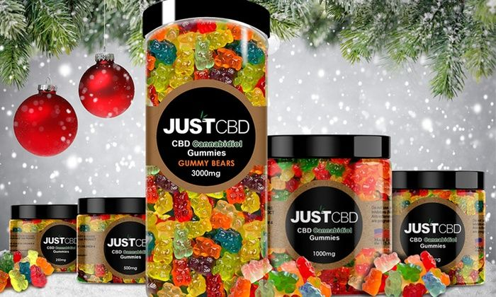 CBD Gummy Bears from Just CBD | Food & drink | Gummy bears, Bear, Food