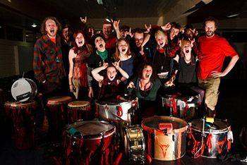 #coastival's Acoustic Lounge ends with The Beastie Drummers in Farrer's Bar 9pm Sunday