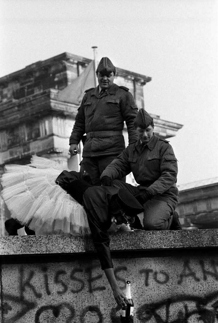 Stanley Greene, The Fall of the Berlin Wall, 1989. that was an amazing time!