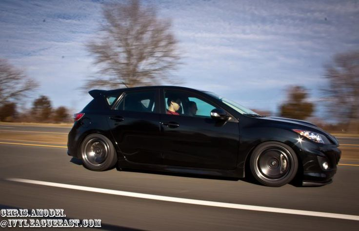 Rota 18x9 5 38 215 40 Tires No Camber Kit On Rears Bc Coilovers Mazdaspeed 3 Pinterest