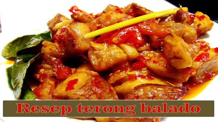 Resep Terong Balado | eggplant recipes | easy eggplant recipes