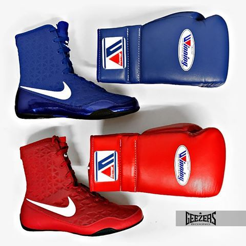 Here is a little something to cheer you up on a Thursday Winning MS Training gloves with the NEW Nike KO boxing boots. LINK ➡️➡️ http://www.geezersboxing.co.uk/ #Winning #Boxing #Sparring #Training #Fitness #Punch #Nike #Boots #Shoes #Geezers #GeezersBoxing #NikeKO