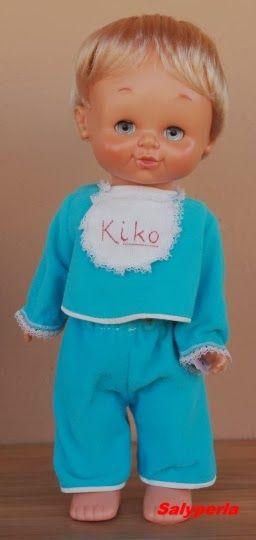Muñeco Kiko de  Famosa. Creo que mi hermana tuvo la Kika, la versión femenina.