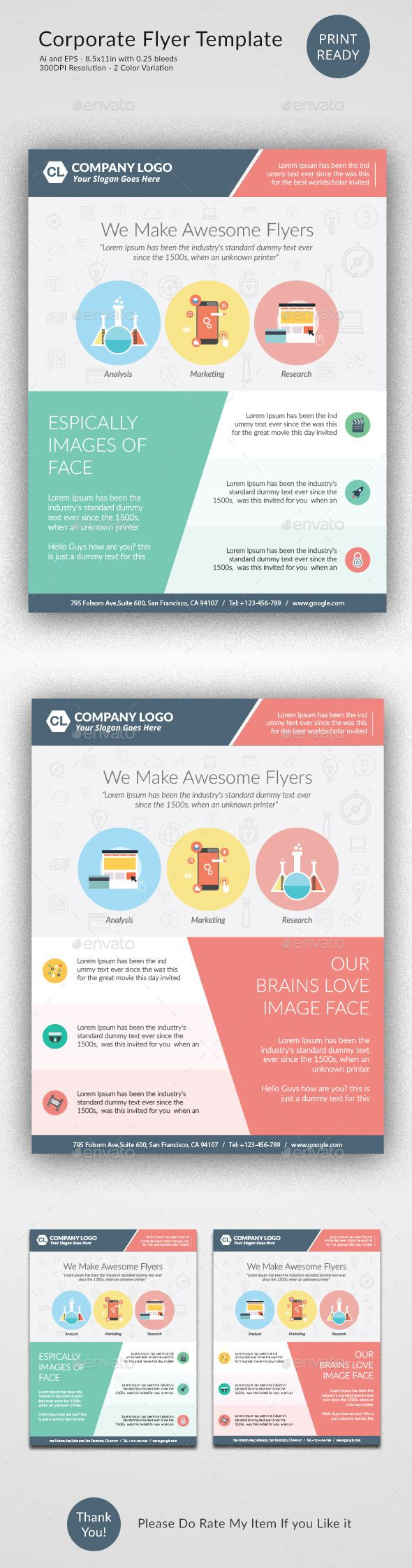 Creative Flyer Vector Template EPS, AI #design Download: http://graphicriver.net/item/creative-flyer-template-/13044022?ref=ksioks