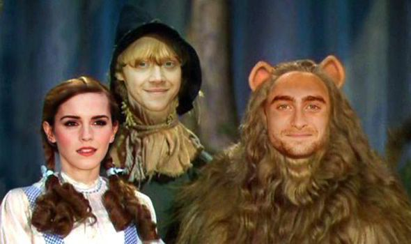 Harry Potter stars in Wizard of Oz remake