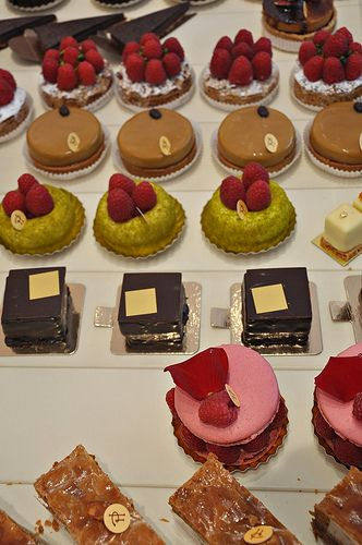 Other selections from the Pierre Herme pastry case