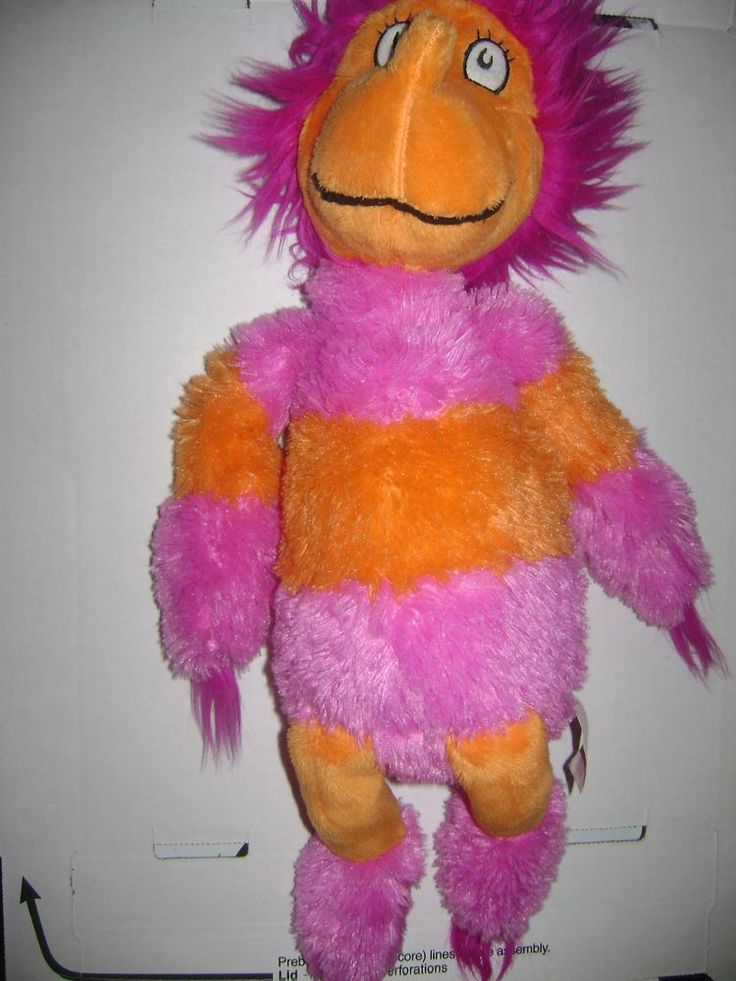 Soft Toys With Pockets : Kohl s cares plush toy dr seuss wocket in my pocket pink