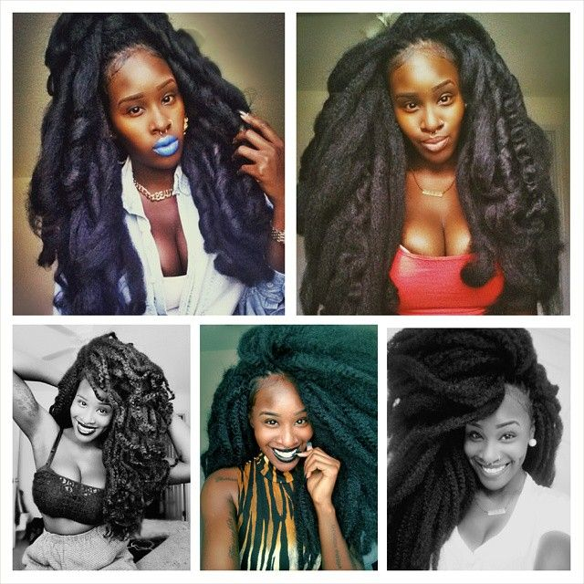 Crochet Braids Elegance : ... Crochet Braids on Pinterest Protective styles, Twists and Crochet