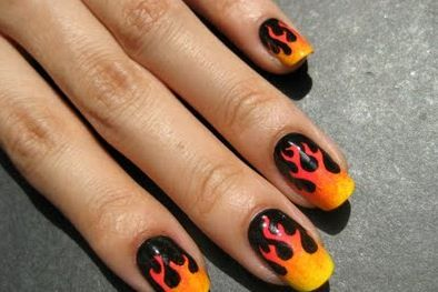 Fire nails      http://www.whatsthebestdietfor.com/how-to-grow-strong-and-healthy-nails/