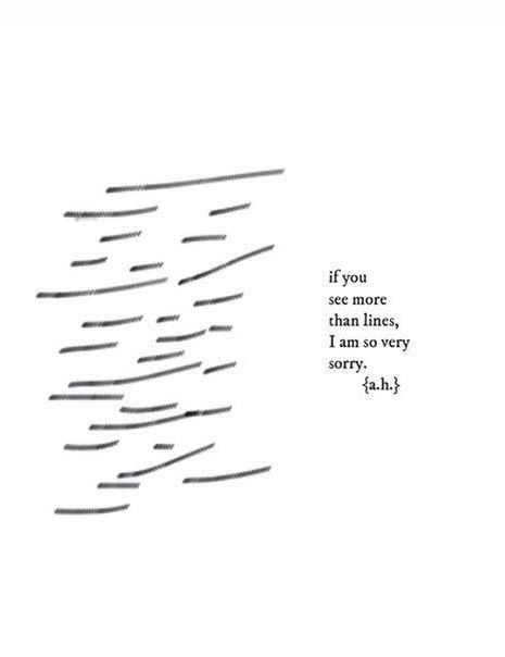I see more than lines