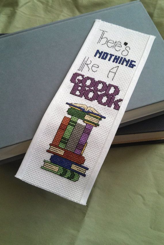 Pattern  Cross Stitch Bookmark  Nothing Like a by PictureThisCC, $3.00