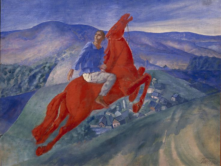 Revolution: Russian Art 1917–1932 | Exhibition | Royal Academy of Arts | Kuzma Petrov-Vodkin, Fantasy, 1925.