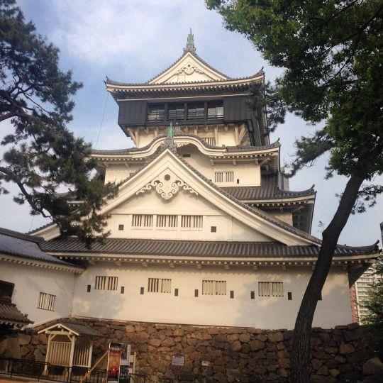 El castillo de #kokura, #japan (en Kokura Castle)