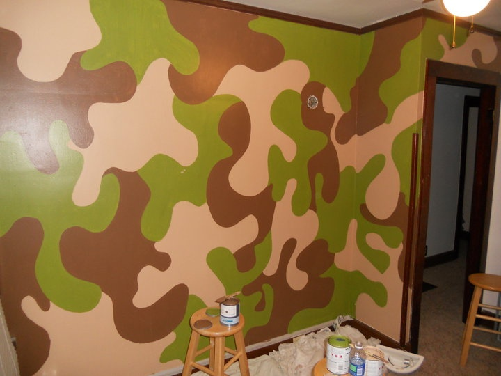 32 best images about tomas room on pinterest how to for Camo kids room