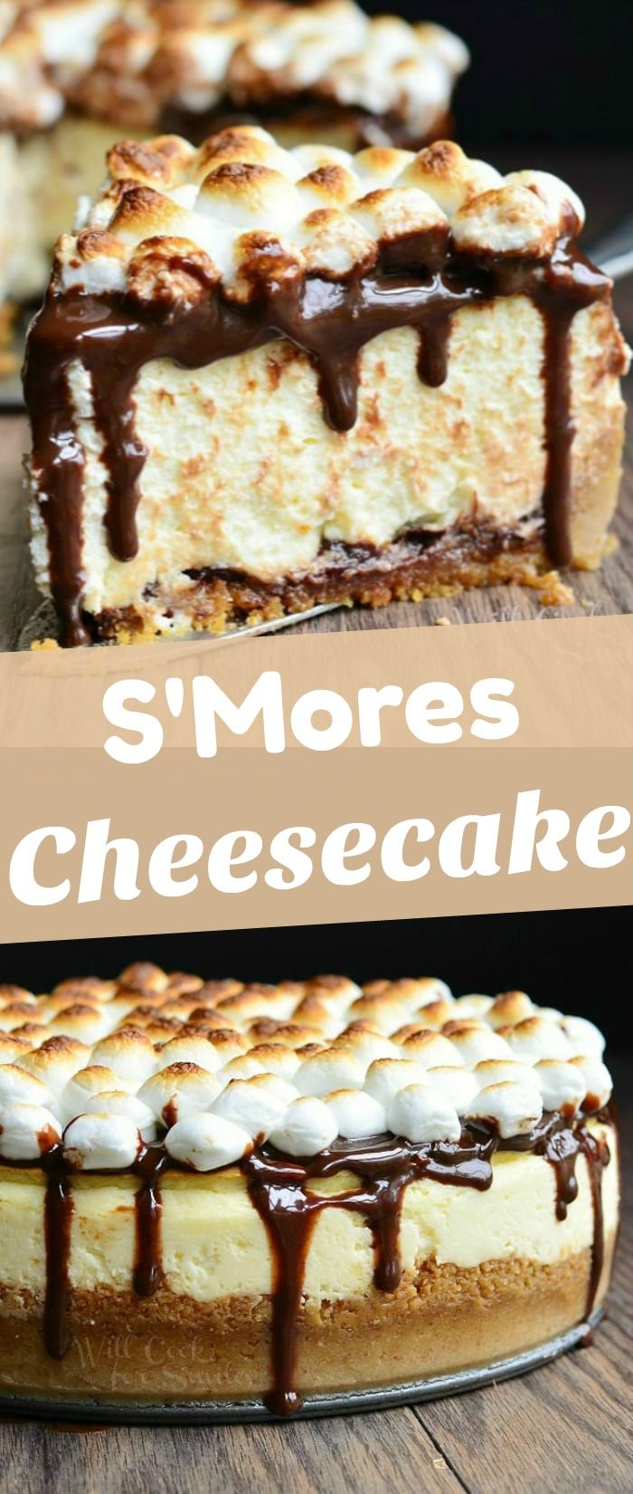 Amazing S Mores Cheesecake In 2020 Cheesecake Recipes Fun Cheesecake Recipes Cheesecake Recipes Classic