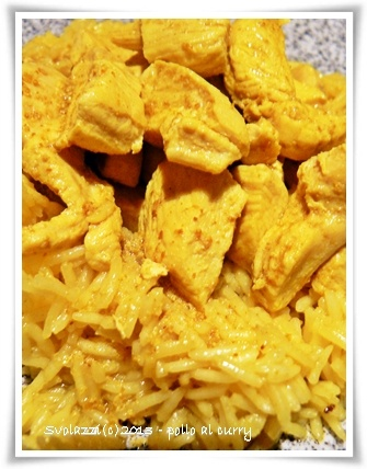 Pollo al curry e riso basmati  http://www.svolazzi.it/2013/04/pollo-al-curry-con-riso-basmati-chicken.html