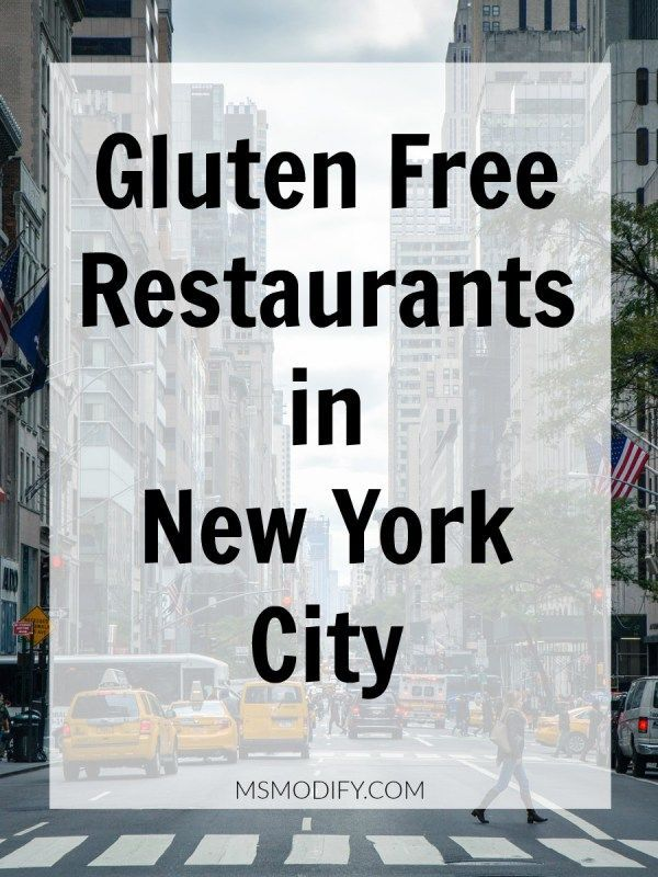 A Review Of Dedicated Gluten Free Restaurants In New York City