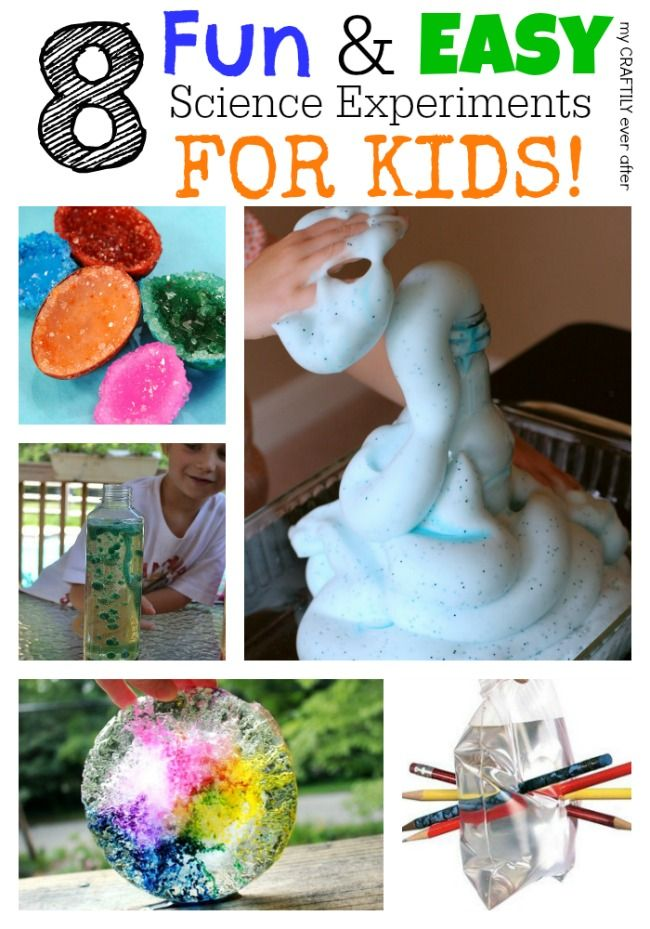 8 fun and easy science experiments for kids
