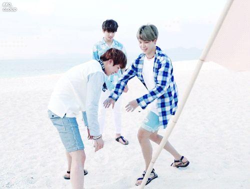 JIN | JIMIN | JUNGKOOK ♡ BTS Summer Package 2017 ♡