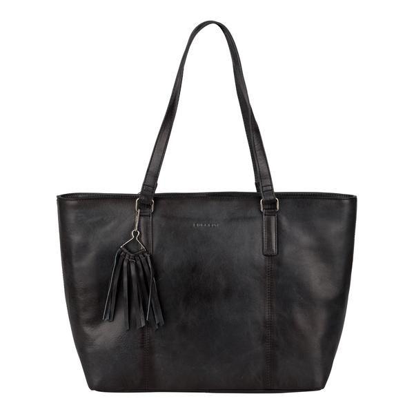 Burkely Noble Nova wide shopper zakelijke tas zwart