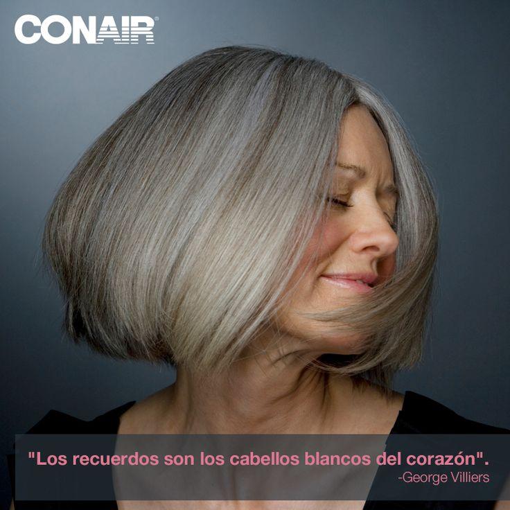 George Villiers #CONAIRMX #belleza #cabello #peinado#sabiduría #edad #canas #color