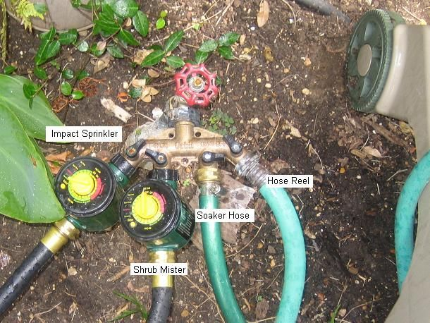 DIY Automatic Sprinkler System With Hoses