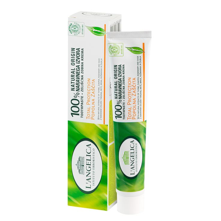 L' Angelica Pełna Ochrona - Naturalna pasta do zębów przeciwpróchnicza