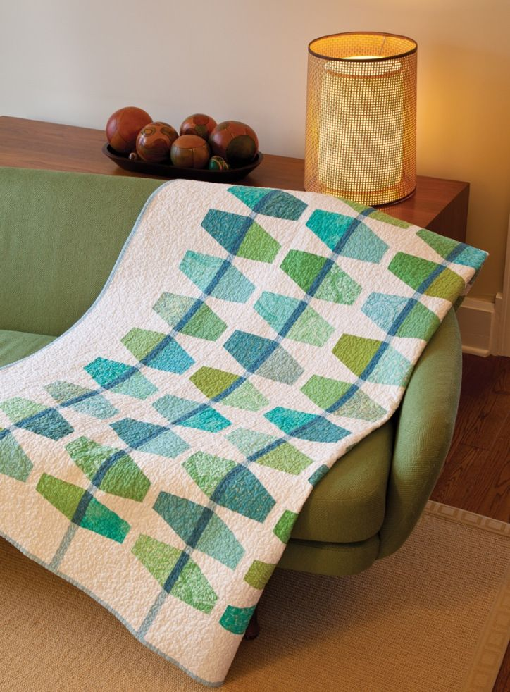 Mint Julep | Modern Quilts | Pinterest