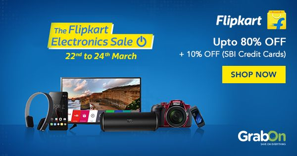 Upgrade to the latest #Electronics from the #FlipkartElectronicsSale!  #electronicdevices #shopping #appliances #home #kitchen #tv #onlineshopping #discount #sale #Flipkart