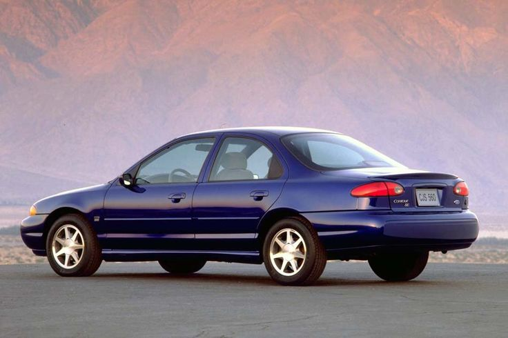 "1995 Ford Contour...Now this car had 9 lives! Mine was ""Seafoam Green""...could always find it in a parking lot."