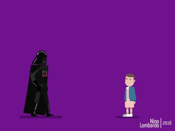 """Consultate il mio progetto @Behance: """"Darth vs Eleven"""" https://www.behance.net/gallery/45694639/Darth-vs-Eleven"""