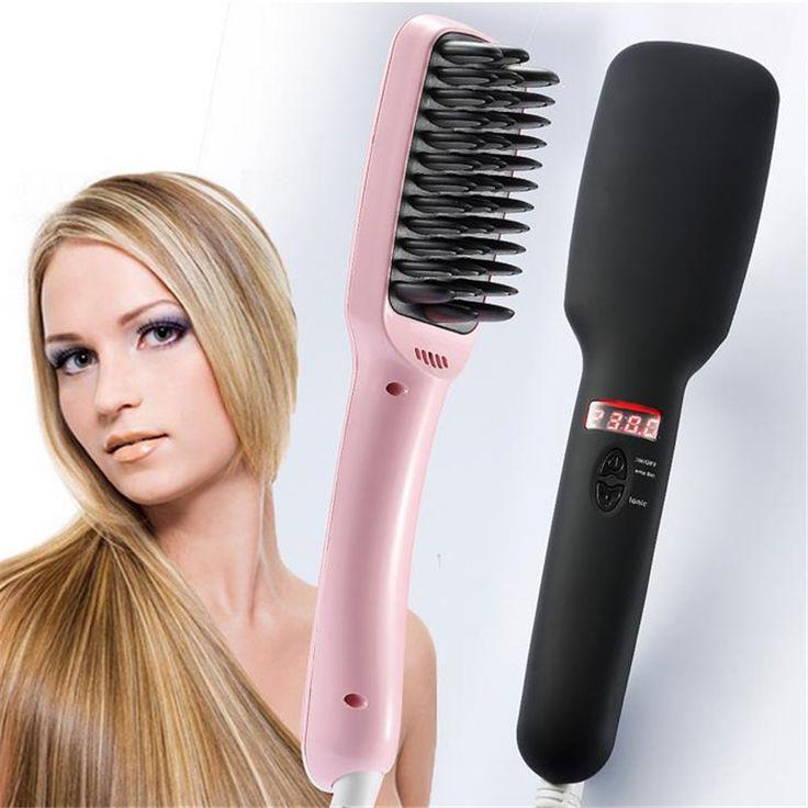 25 Best Ideas About Hair Brush Straightener On Pinterest
