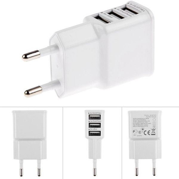 5 v 2a eu multi usb charger apparaat plug voor oneplus iphone 6 5 s 5 4 s voor samsung galaxy s5 reizen usb power adapter muur Charger