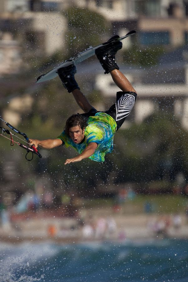 Extreme Kiteboarding, Cape Town, South Africa by Mario Moreno,