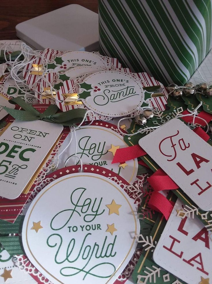 Pin by Michelle Coons on Stampin' UP! Christmas Gift