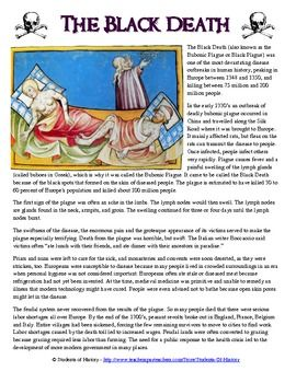 the plague catastrophe in europe in the middle ages Learn and revise about the black death, a plague in the middle ages which killed an estimate 20 million deaths in europe he described it as a catastrophe which.