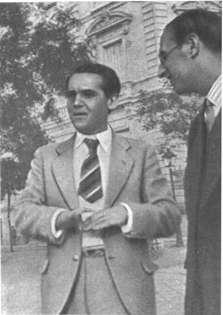 Федерико Гарсиа Лорка и Хорхе Гильен