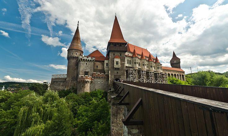Corvin castle στην πόλη Hunedoara, Hunedoara