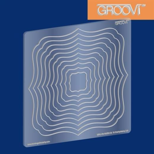 Groovi Plate - Nesting Classic Frame - £7.99 - A great range of Groovi Plate Nesting Classic Frame from The Art of Craft