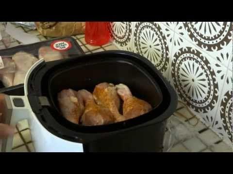 Philips Air Fryer - Chicken Drumsticks.