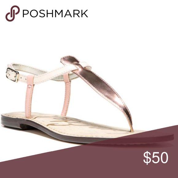 NEW Sam Edelman Gigi Sandals Rose Gold Size 7 NEW Sam Edelman Gigi Sandals Size 7. Tri-Color: Rose Gold, Blush & Cream. Gorgeous and comfortable! Sam Edelman Shoes Sandals
