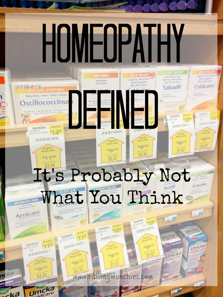 Homeopathy Defined | It's Probably Not What You Think | Raising Munchies