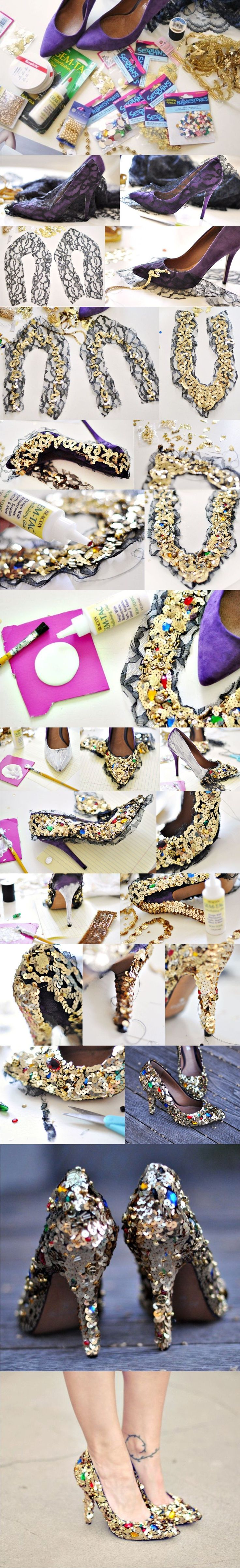 Decoración para tus zapatos en Nochevieja - yesstyle.com